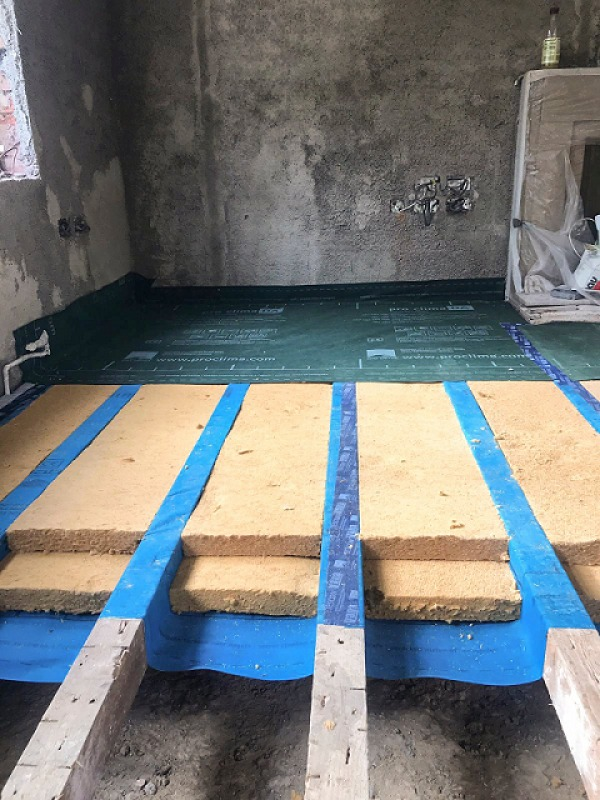 Thermally Upgrading Suspended Floors