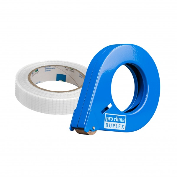Pro Clima Duplex tape with dispenser