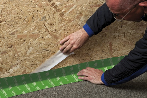 Extoseal Finoc has 2 separate release papers for easy, effective installation
