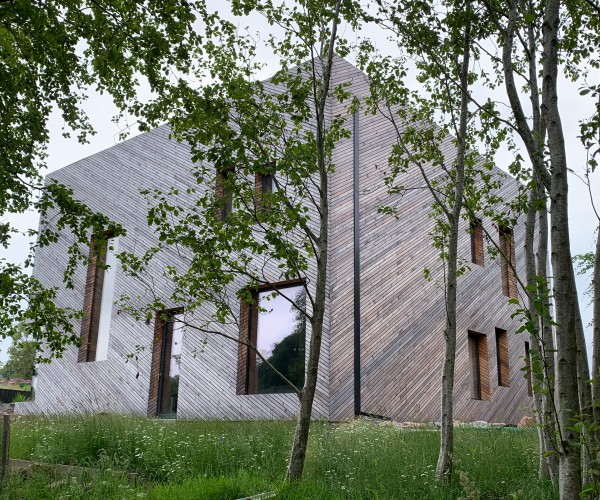 Contemporary Certified Passivhaus in Stirlingshire