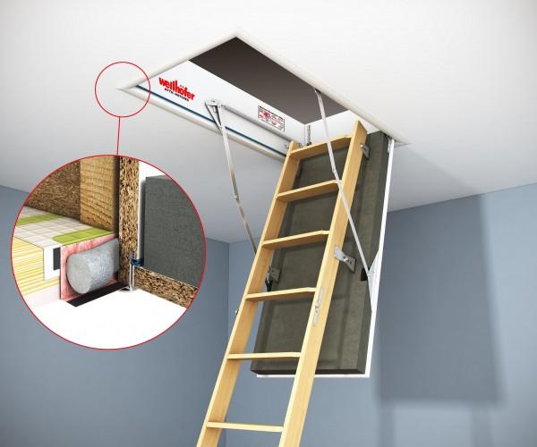 Wellhofer Airtightness Insulated Attic Hatches